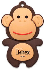 Mirex MONKEY BROWN 8GB фото