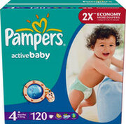Pampers Active Baby 4+ Maxi Plus фото