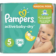 Pampers Active Baby-Dry 11-18 кг (36) фото