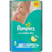 Pampers Active Baby-Dry 4-9 кг (70) фото