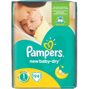 Pampers New Baby Dry 2-5 кг (94) фото